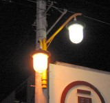 香川県坂出京町街路灯